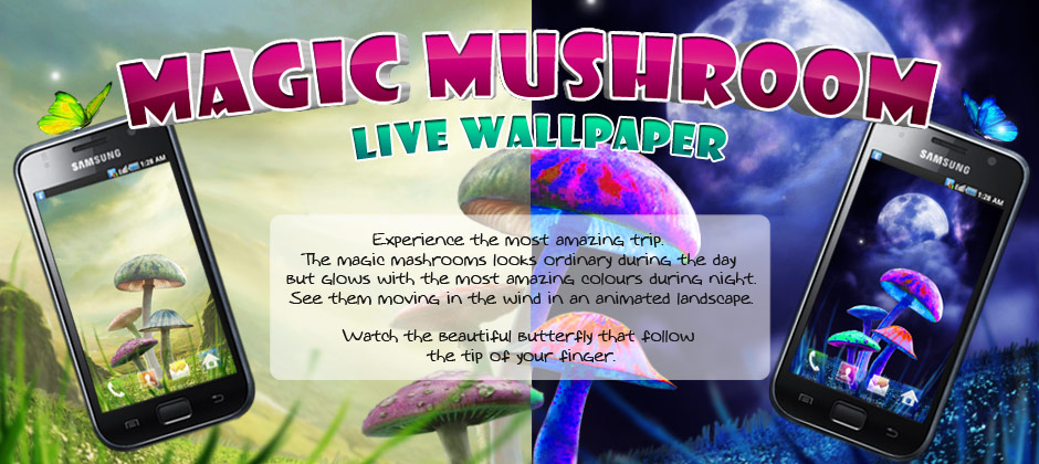 Popular Magic Mushrooms Live Wallpaper